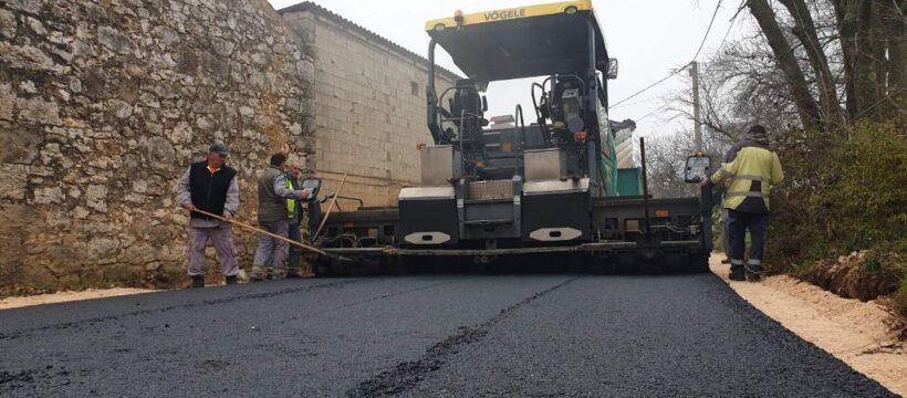Kosinožići - početak asfaltiranja 3