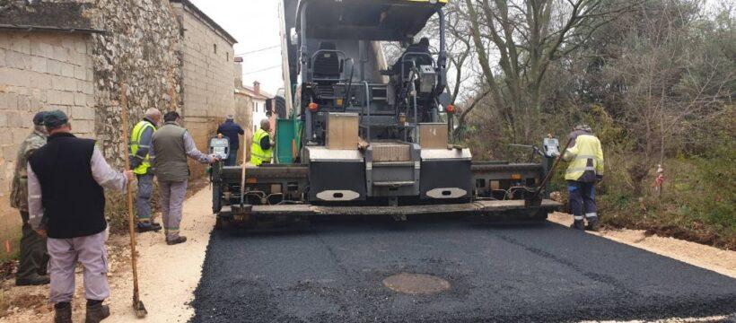 Kosinožići - početak asfaltiranja 4
