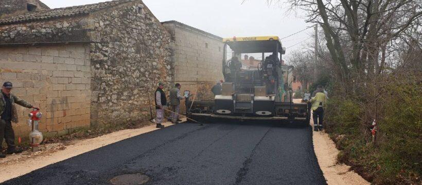 Kosinožići - početak asfaltiranja 5
